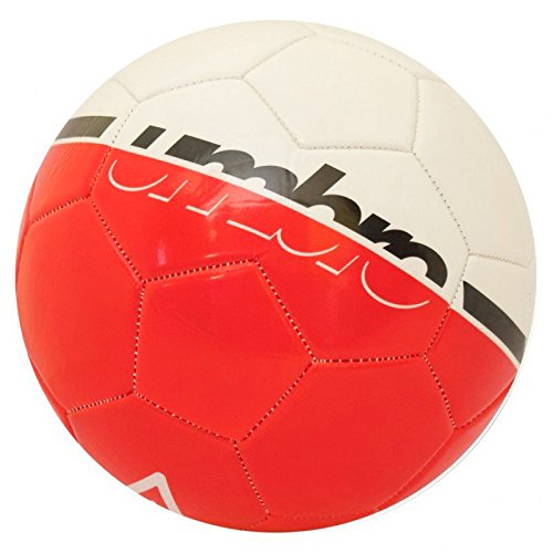 Umbro Veloce Supportter Balón Fútbol, Blanco/Rojo (Fiery Red ...