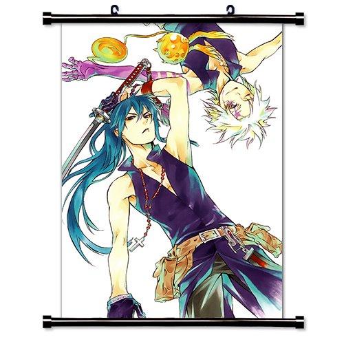 (D. Gray-Man Anime Fabric Wall Scroll Poster (32