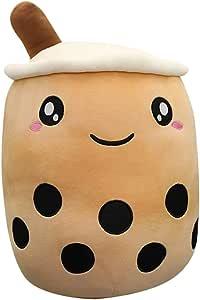 TOYANDONA Plush Toy Milk Tea Cup Plush Pillow Stuffed Toy Soft Stuffed Plush Doll Hug Pillow Throw Pillow (Brown, 24CM)