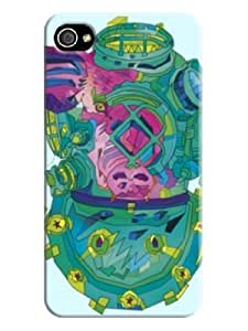 3d Textures Designed Phone Protection Case for Iphone 4