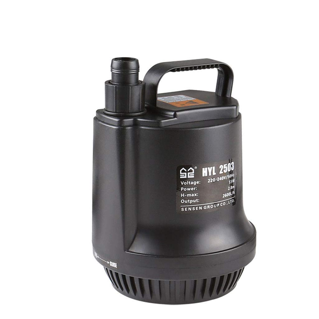 5800L H Large Power Submersible Pump Low Water Level Pumping Function for Aquarium Pond Statuary Fountain Gardening Rockery,5800L H
