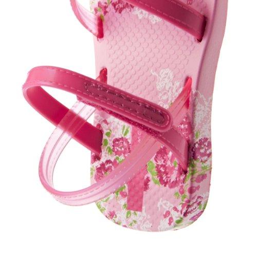 Ipanema Brasil Fiesta II Girls Sommer Sandalen, Pink, Größe 19/20