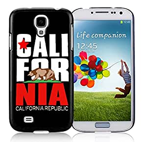 New Fashion Antiskid Skin Case For Samsung S4 CALL FOR NIA Samsung Galaxy S4 Black Phone Case 072