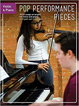 Amazon com: Pop Performance Pieces: 10 Hit Songs for Violin and