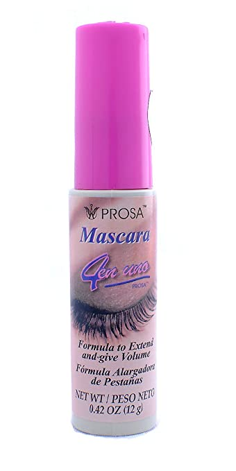 6f975329911 Amazon.com : Prosa 4 in 1 4 en uno Mascara : Beauty