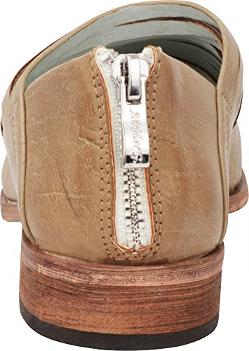 Cambridge Laser Slip Shootie On Cutout Select Toe Women's Taupe Ankle Pointed Pu Bootie rqfnYrwaI