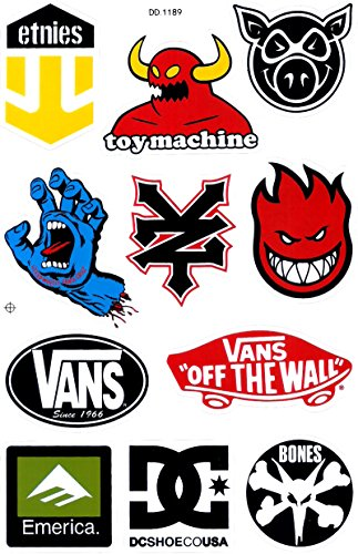 Skateboard Graphic Sticker Decal 1 Sheet.