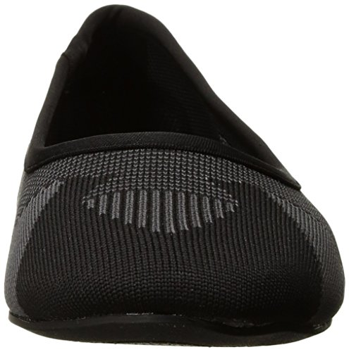Women's Ballet Charcoal CLEO Black Skechers WHAM Flats 0PtdWw4q4