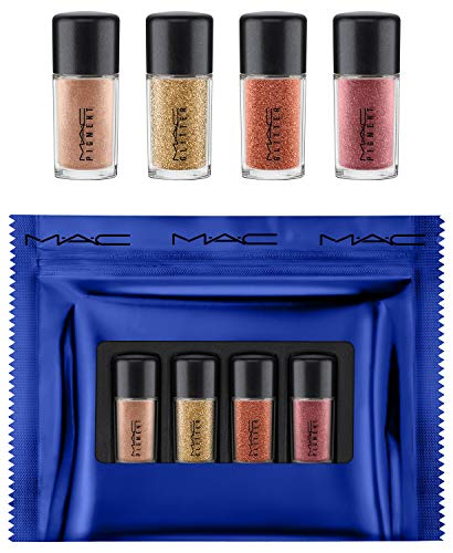 M.A.C. Gold Shiny Pretty Things Party Favours Mini Glitter & Pigments Set Color: Gold (Mac Glitter)