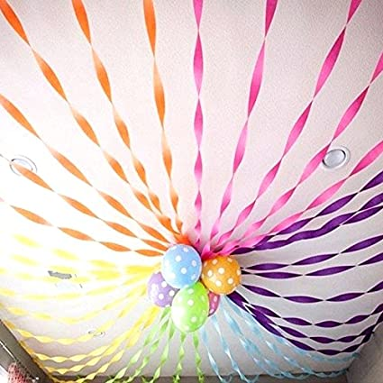 KIDSTAB Ziggle Crepes Paper Frills Big Size Streamers Buntings For Xmas Or Festival Birthday Decoration 5 M Bunch Of Pieces Amazonin Toys Games