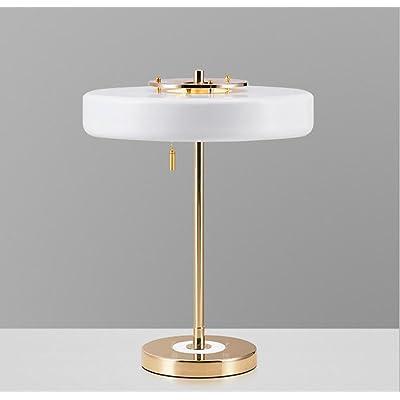 Style Europeen Simple Postmoderne Chambre Chevet Lampe Creative Fer