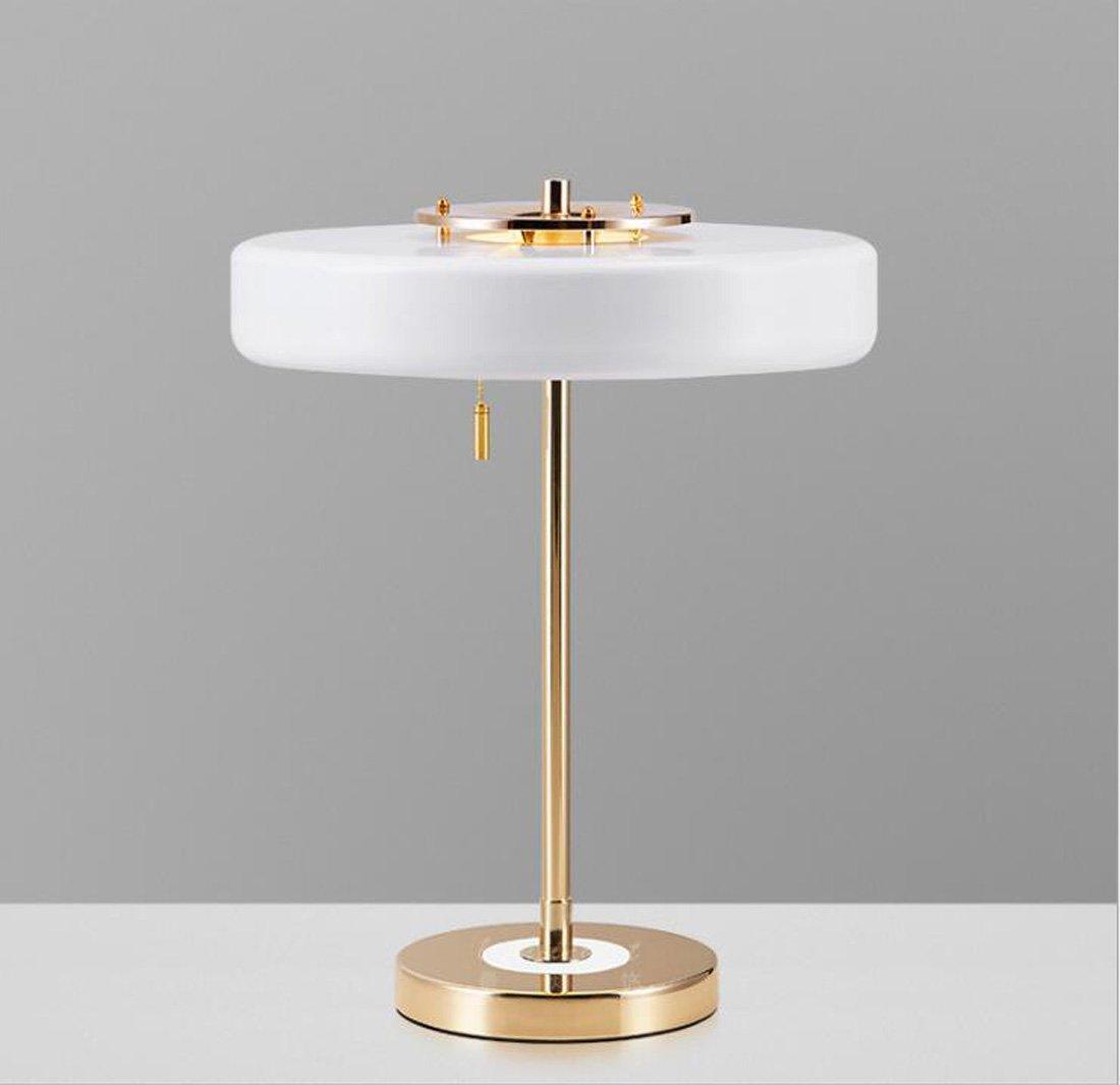 Onfly Postmodern minimalistischen europäischen Schlafzimmer Nachttischlampe kreative Eisen Kunst Hochzeit Tischlampe Luxus Wohnzimmer Hotel dekorative Schreibtischlampe