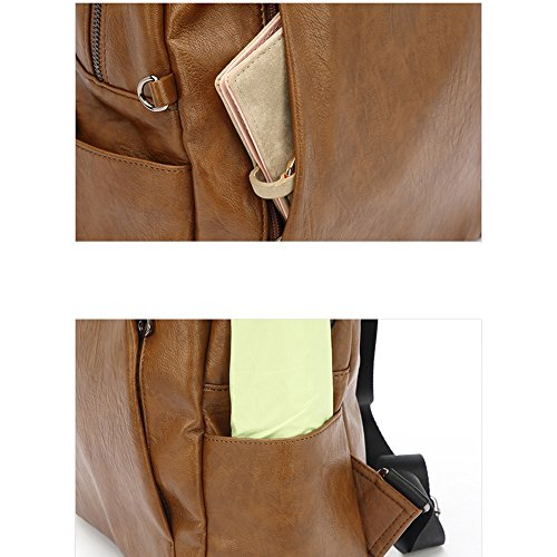 Xks Trend Casual Simple Soft New Personality Wild Backpack Bag Fashion 2018 Leather 0vO0nAr