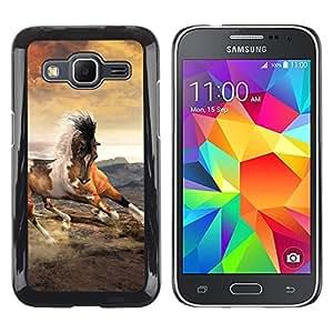 Stuss Case / Funda Carcasa protectora - Mustang Horse Clouds Galloping Spots - Samsung Galaxy Core Prime SM-G360