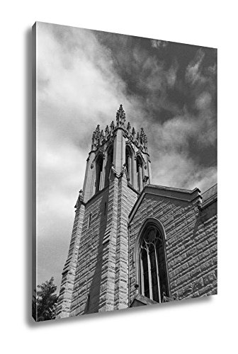 Ashley Canvas Church Of The Holy City Washington Dc, Wall Art Home Decor, Ready to Hang, Black/White, 20x16, AG6558790 by Ashley Canvas