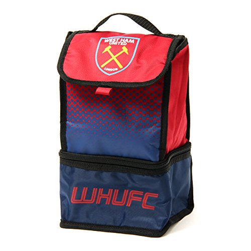 West Ham United FC Insulated Fade 2 Compartment Lunch Bag