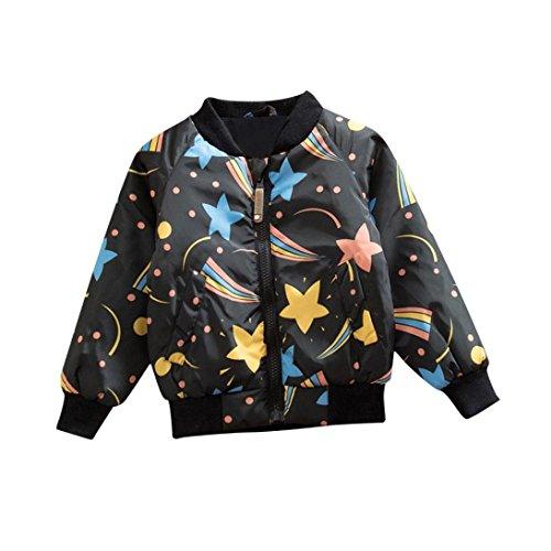 Starry Jackets Kids, WuyiMC Boys Girls Warm Coat Winter Thick Tops Waistcoat (1-2 Toddlers, (1 Waistcoat)