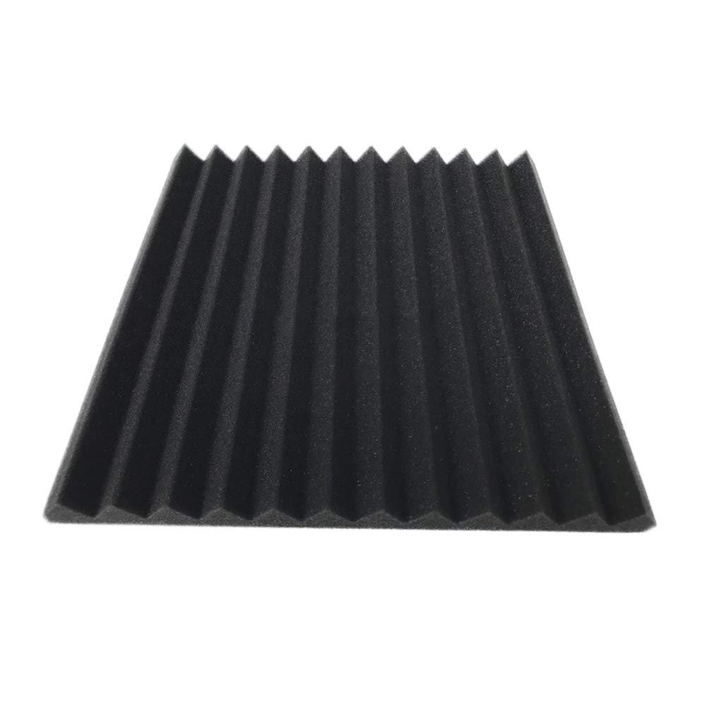 5 X Paneles Acústicos Studio Closed Cell Foam Sound-absorbting Sound Proofing Aislamiento Paneles acústicos shengdai85