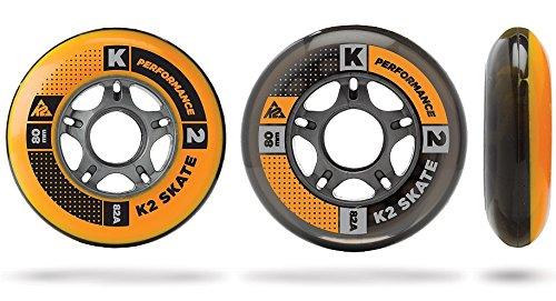 K2 PERFORMANCE FORMULA SKATE ALLROUND FITNESS ROLLEN 8 Stück 80mm/82A (2 x 3053003.1.1)