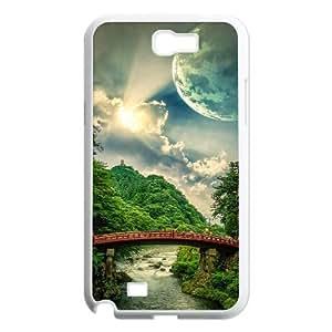 Landscape ZLB567746 Unique Design Phone Case for Samsung Galaxy Note 2 N7100, Samsung Galaxy Note 2 N7100 Case