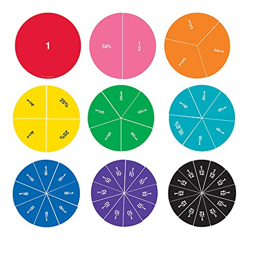 Amazon.com: Learning Resources Double-Sided Magnetic Fraction ...