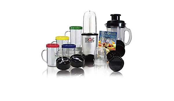 TrAdE shop Traesio® Licuadora Magic Bullet Robot 21 piezas con kit ...