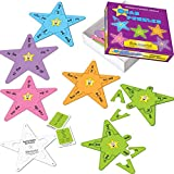 Really Good Stuff Spanish Syllable Star Puzzles