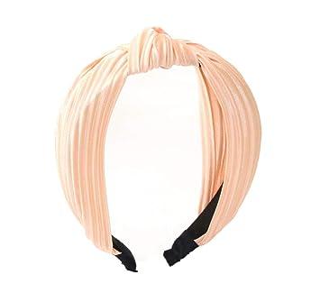 Women Hair Band Headband Bow Knot Twist Hairband Cross Hoop Headwear Tie Wide