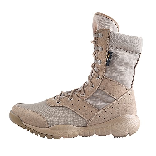 WWOODTOMLINSON Men's LD Desert Boots,Lightweight Lace up Combat Boots Military Tactical Outdoor Men Boots