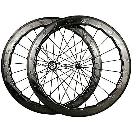 LOLTRA NSW 454 Juego de Ruedas para Bicicleta de Carretera, 700 C, 58 mm