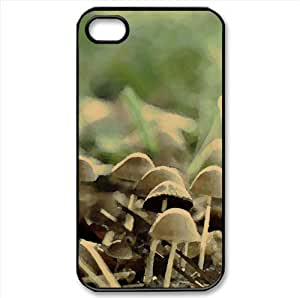 Mushrooms Watercolor style Cover iPhone 4 and 4S Case (Forests Watercolor style Cover iPhone 4 and 4S Case)