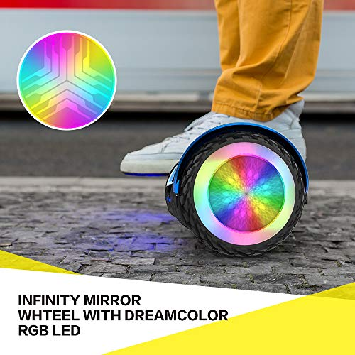 CITY CRUISER Hoverboard with Bluetooth Speaker, LED Light by UL 2272 Certified Best Gift for Kids Purple by CITY CRUISER (Image #5)