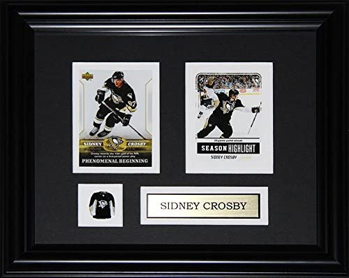 Sidney Crosby Pittsburgh Penguins 2 Card Nhl Hockey Memorabilia Collector Frame Trading Cards Amazon Canada