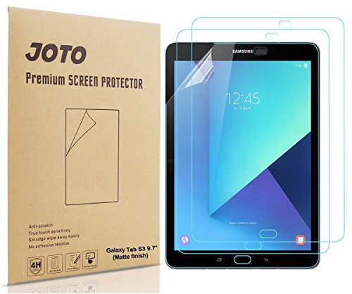 JOTO Galaxy Tab S3 9.7 Screen Protector Anti Glare, Anti Fingerprint (Matte Finish) Screen Protector Film Guard for Samsung Galaxy Tab S3 9.7 Tablet,3 Count