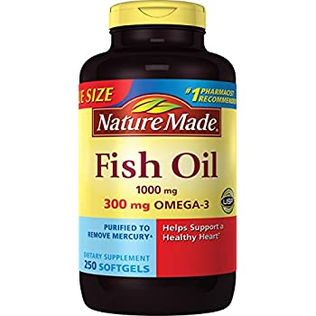 Kirkland signature fish oil concentrate with for Big fish kirkland