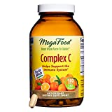 MegaFood - Complex C, Supports Immunity and Well-being with Rosehips and Orange, Vegan, Gluten-Free, Non-GMO, 180 Tablets (FFP)