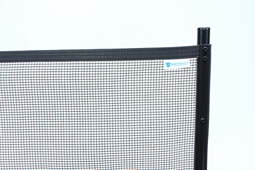 Sentry Safety Pool Fence Visiguard 4' Tall 12' Long Removable Child Barrier Pool Safety Mesh Fence (Black) by Sentry Safety Pool Fence