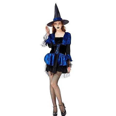 Dpliu-FS Vestir Trajes de Halloween Vestido de Traje de ...