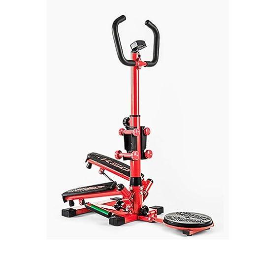 Máquinas de cardio Fitness y ejercicio Paso a paso delgado Cinta ...