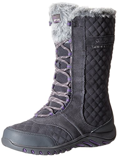 (Skechers Women's Descender Andes Winter Boot,Charcaol,6 M US)