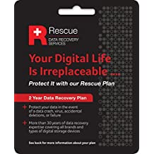 Seagate - Data Recovery STZZ758 2 Year Rescue Data Recovery Service Plan for External HDD and SSD