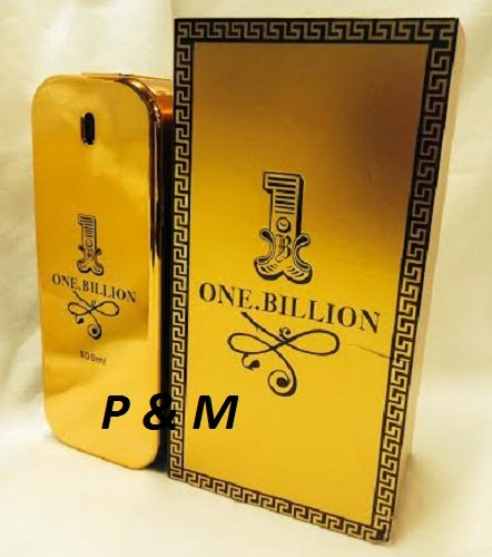 ONE BILLION BY TIVERTON COLOGNE FOR MEN 3.4 OZ / 100 ML EAU DE PARFUM SPRAY