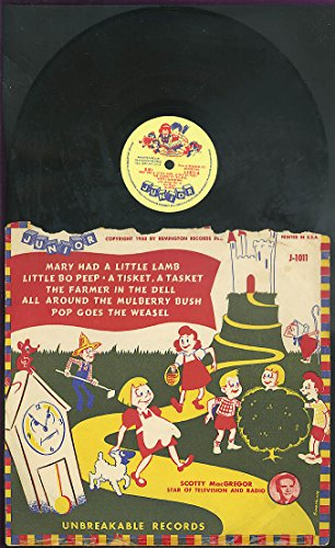 Scotty MacGregor more Nursery Rhymes 78rpm Remington Records 1950