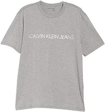 Calvin Klein Men's Short Sleeve Classic Ck Logo Crew Neck T-Shirt