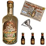 Custom Vodka Infusion Set (Mexican Coffee Liqueur) With Personalized Private Labeled Bottle