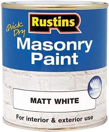 Rustins MASPW500 Masonry Paint - Budget-Friendly