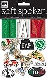 me & my BIG ideas Soft Spoken Themed Embellishments, Italy