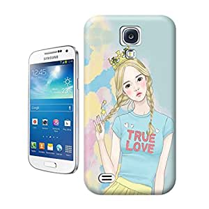 Buythecases Watercolor girl14 for durable designer phone cases for samsung galaxy s4