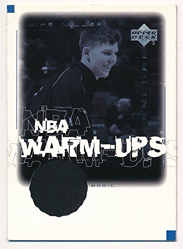 - MIKE MILLER 2000/01 UD UPPER DECK ENCORE NBA WARM UPS RELIC GAME JERSEY SP $20