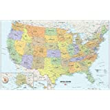 Usa Dry Erase Map Decal